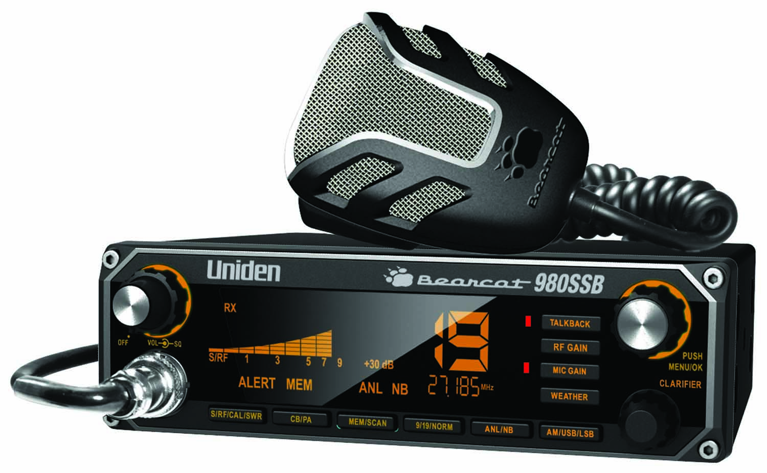 BC980SSB - Uniden CB Radio with SSB