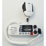 BMKYSOLDSC - Uniden White Replacement Microphone and Front Panel for SOLARA-DSC