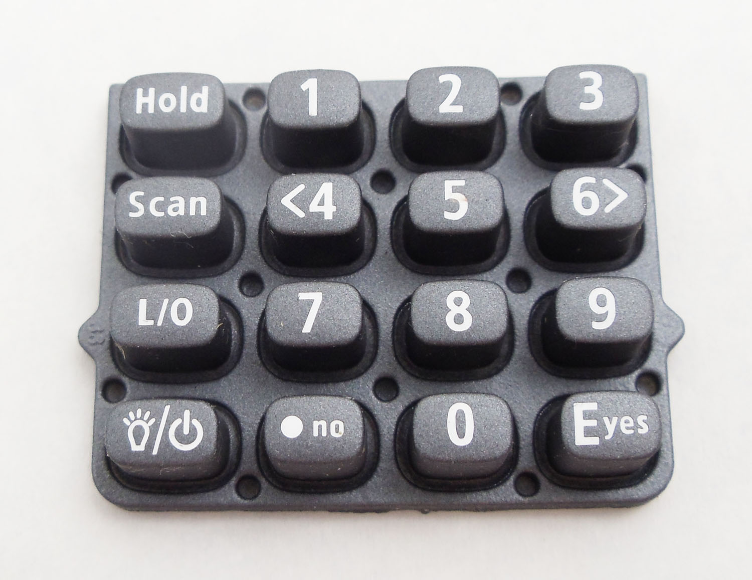 LNBZ4E0966Z -Uniden Replacement Key Pad For BCD396XT Scanner