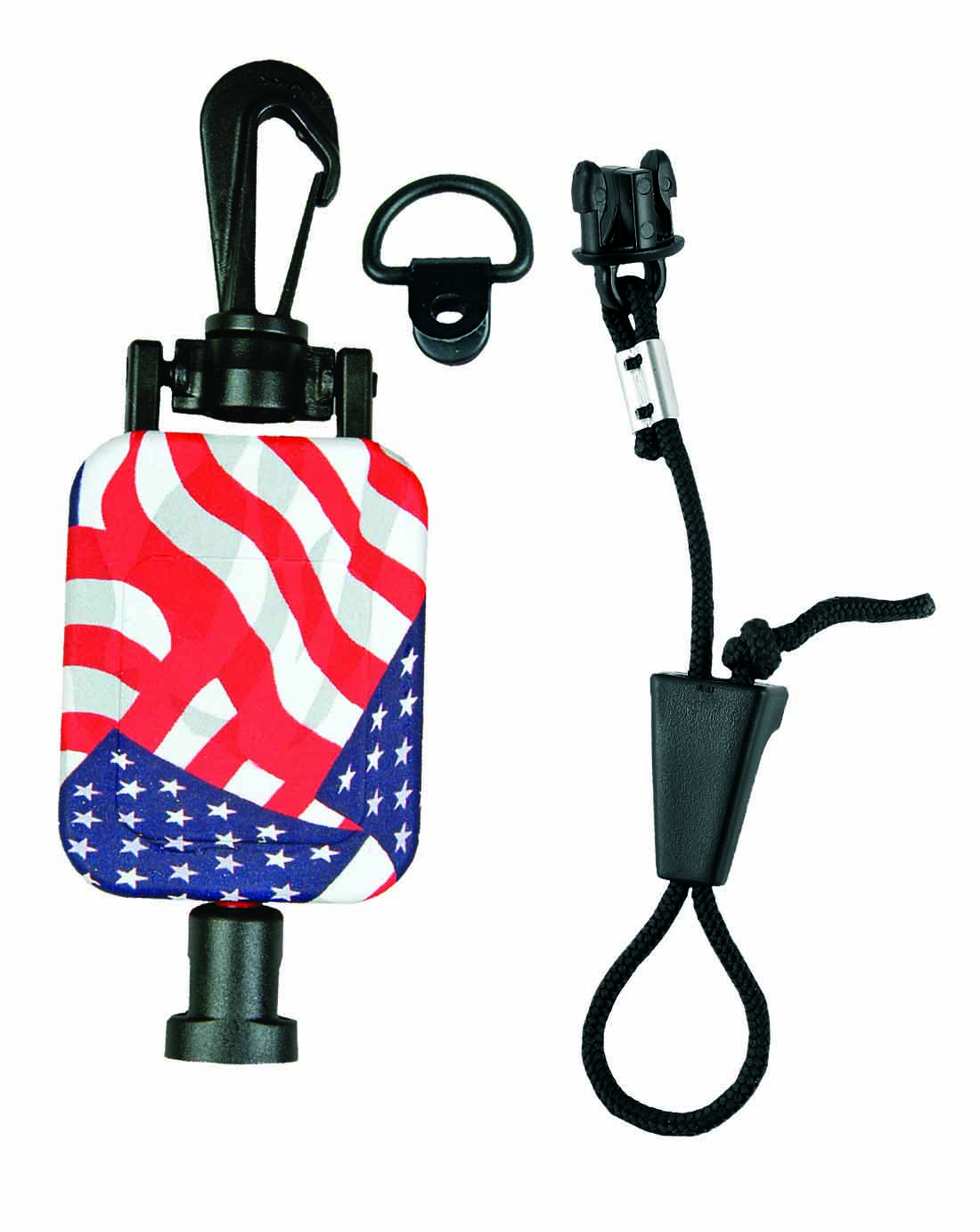 MH9USA - Retractable Mic Keeper Stars & Stripes