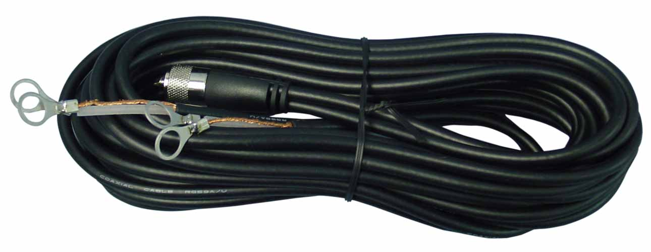 PLL12X - Marmat 12' Co-Phase Harness Coax with Lug Connector (Bulk)