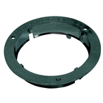 "049BP9132 - 4""  Black Locking Flange Nut - Carded"