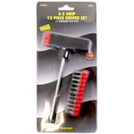 0763012 - 12 Piece T-Bar Screwdriver Set