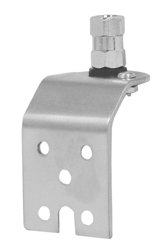 AUSM13 - Stainless Steel Side Antenna Mount