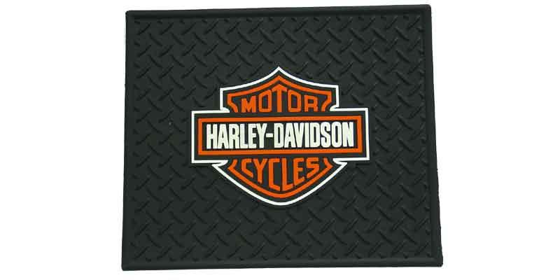 0241002 - Harley Davidson Rubber Utility Mat