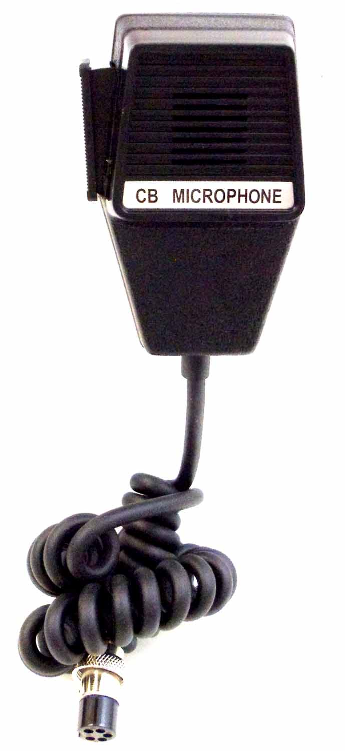 CB MIC5 - 5 Pin Cobra/Uniden Replacement Microphone With 6' Cord