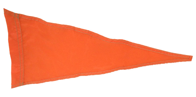 FLAG-O - Orange Safety Flag
