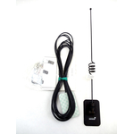 BMAF0835C - Maxrad 815-896 Mhz 10 Watt Open Coil Collinear Black Glass Mount Antenna With 15' Cable & Tnc Connector