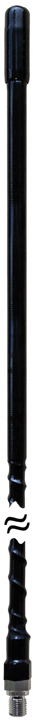 JBC200-BX - Procomm 2' 3/8x24 Thread Fiberglass CB Antenna Black (Bulk)
