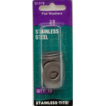 07401378 - Stainless Flat Washers 3/8""
