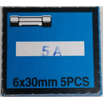5AMP - Twinpoint 5 Amp Glass Fuses (Box Of 5)