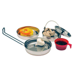 T13156 - Texsport Stainless Steel Mess Kit