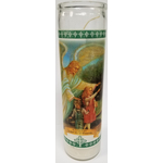 "KM1752-G - 8"" Guardian Angel Candle"