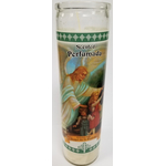 "KM1752-GS - 8"" Guardian Angel Candle"