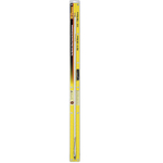 WFGT3-W - 3' Tunable Tip White Antenna w/Ground Strap Silver Load