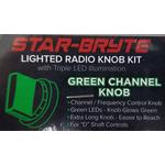 SRNK1-G  - Nitro Knob Channel Selector (Green)