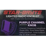 SRNK1-PUR   - Nitro Knob Channel Selector (Purple)