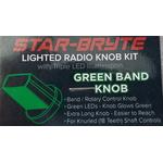 SRNK3-G - Nitro Knob Band Switch (Green)