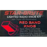 SRNK3-R - Nitro Knob Band Switch (Red)