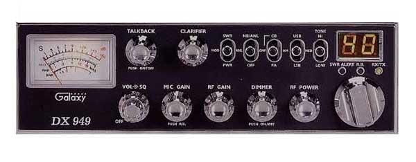 DX949 - Galaxy CB Radio
