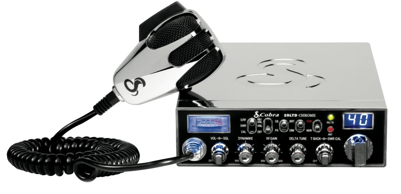 C29LTDSE-C - Cobra CB Radio With Chrome Finish