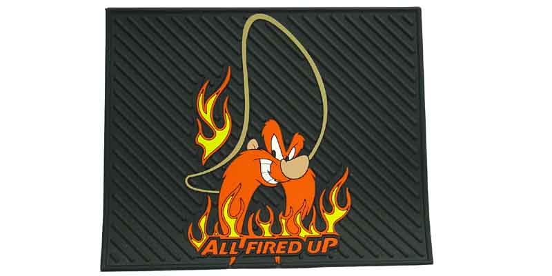 0241060 - Yosemite Sam All Fired Up Rubber Mat