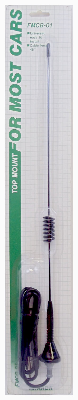 "FMCB01 - Top Mount 18"" Cellular Imitation Am/Fm Antenna"