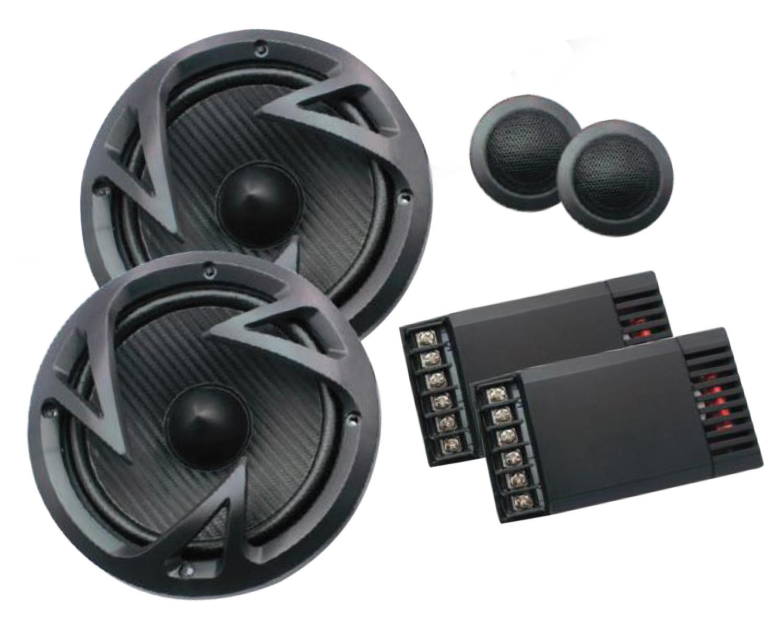 "EF60C - Power Acoustik 6-1/2"" 500 Watt Component System"