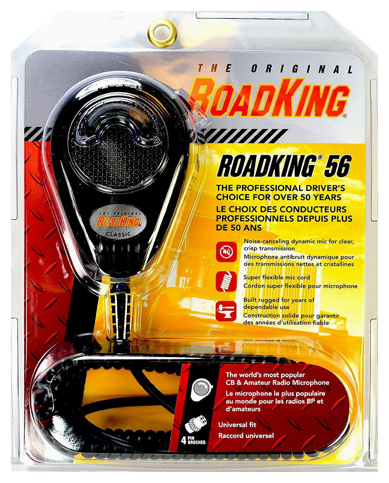RK564P - Roadking 4 Pin Dynamic Noise Canceling Microphone