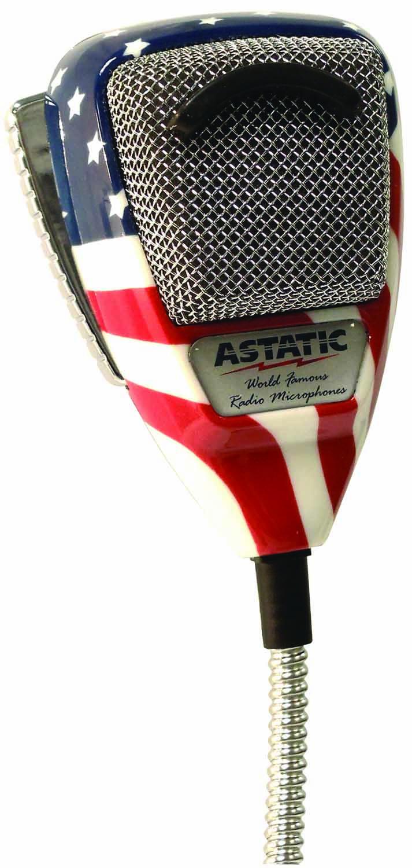 636L-FLAG Astatic Microphone 636L-FLAG