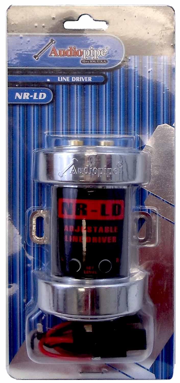 NRLD - Audiopipe Female Rca Output Adjustable Line Driver