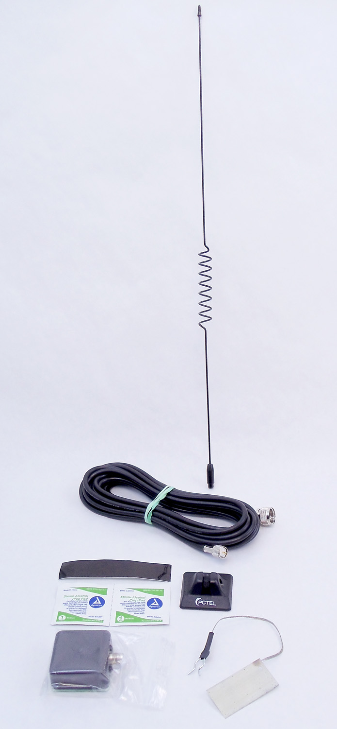 APR153 - Maxrad 150-174 MHz 50 Watt Glass Mount VHF Antenna