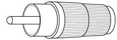 PP6 - Marmat RCA Type Audio Plug (5 Sets)