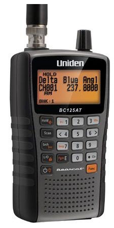 BC125AT - Uniden 500 Channel Handheld Scanner