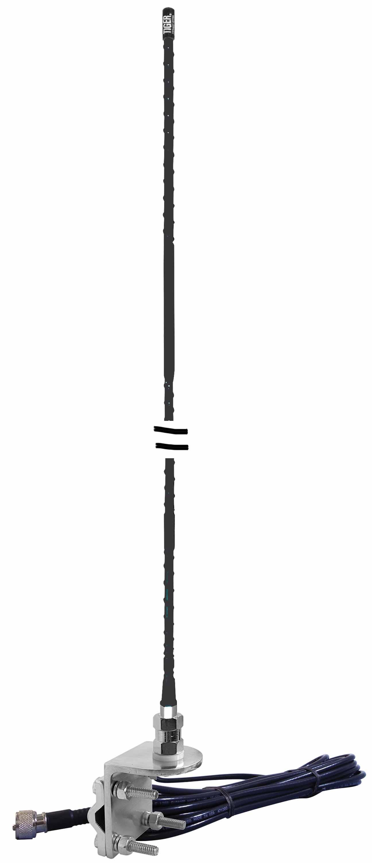 NGP1-B - Everhardt 4' Fiberglass NGP Mirror Mount Antenna Kit