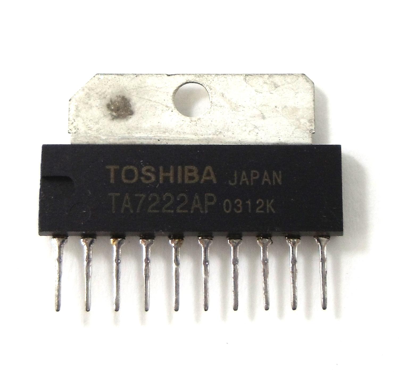 TA7222 - EKL Audio Amplifier I.C.