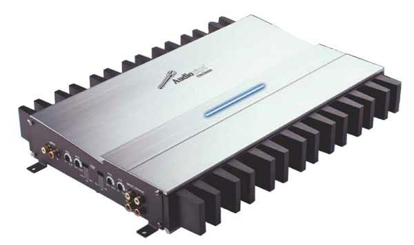 GM754 - Audiopipe 4 Channel 1500 Watt Hi-Power Mosfet Amplifier