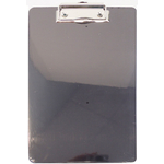 "00850966 - 8.5"" X 6.5"" Black Plastic Clipboard"