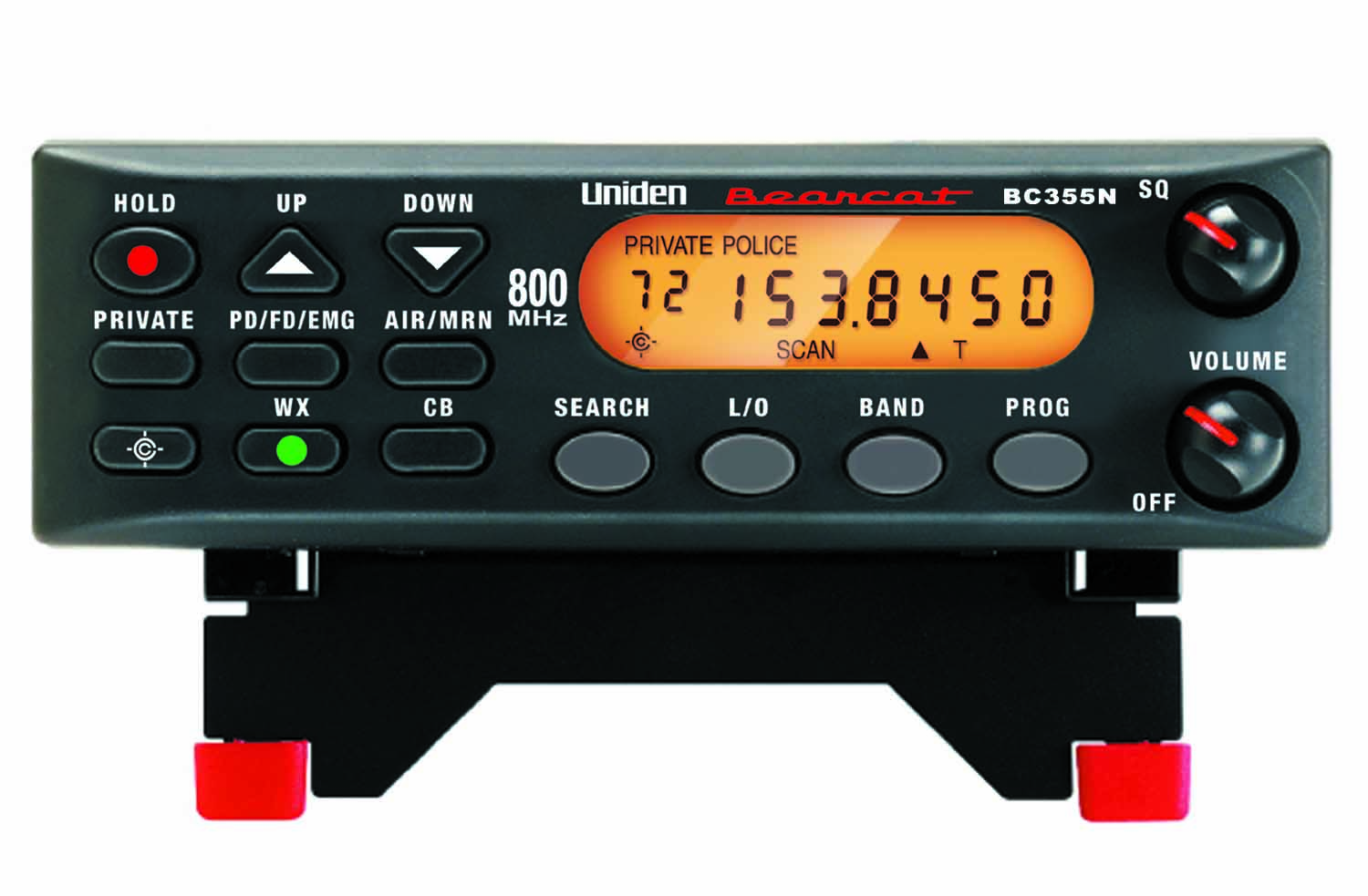 BC355N - Uniden 300 Channel Narrow Band Base Scanner
