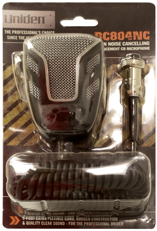 BC804NC -  Uniden Noise Canceling CB Microphone