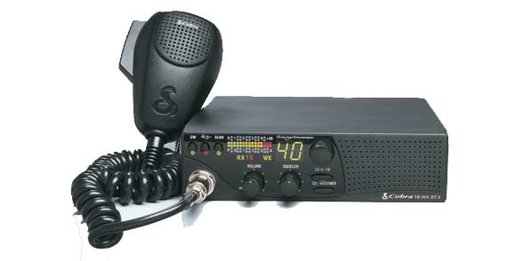 C18WXSTII -Cobra Economical CB Radio with Weather