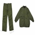 """UNIFORM-L - Green Military """"Chemical Suit"""" Large (1062)"""