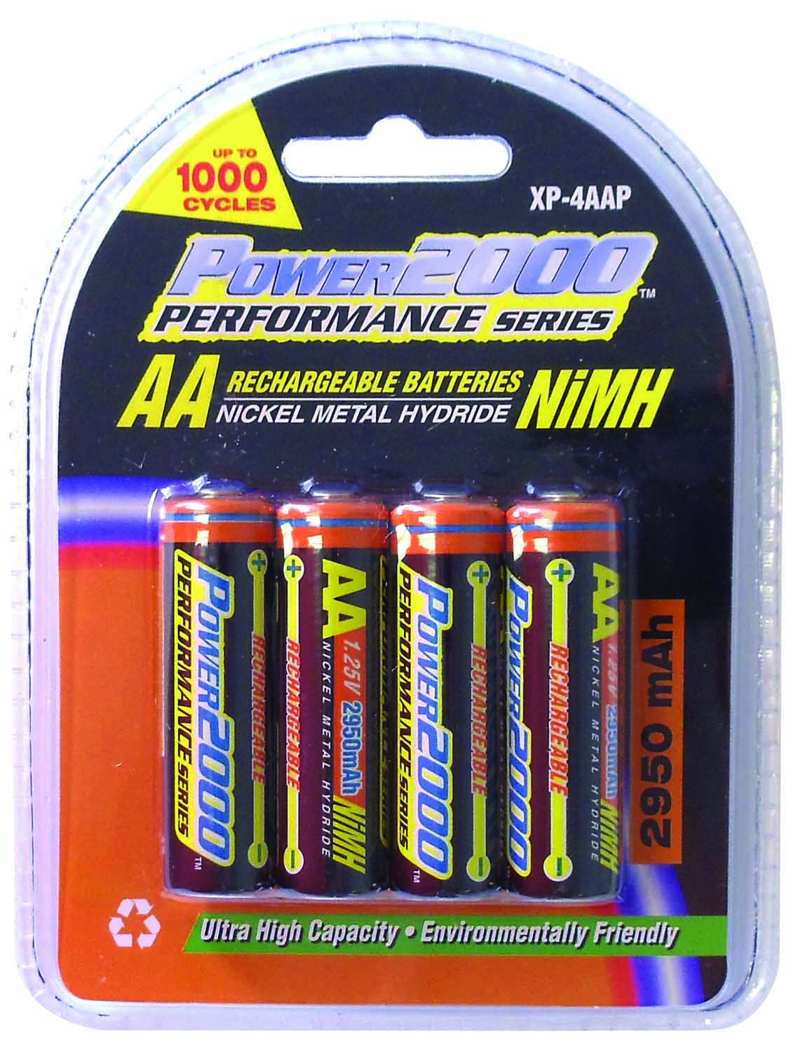 "XP4AA - Power2000 4 Pack ""AA"" Batteries"