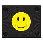 "0241053 - Plastic color Happy Face Molded 14"" x 17"" Utility Mat"