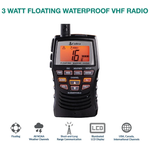 MRHH150FLT - Cobra - 3 Watt VHF Handheld Radio with NOAA