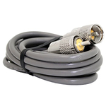 12' RG8X SINGLE LEAD COAX CABLE WITH SOLDERED PL259 CONNECTORS ON EACH END