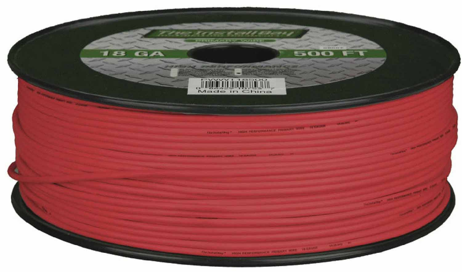 PWRD16500 - Metra 500 Foot Roll of 16 Gauge Primary Wire (Red)