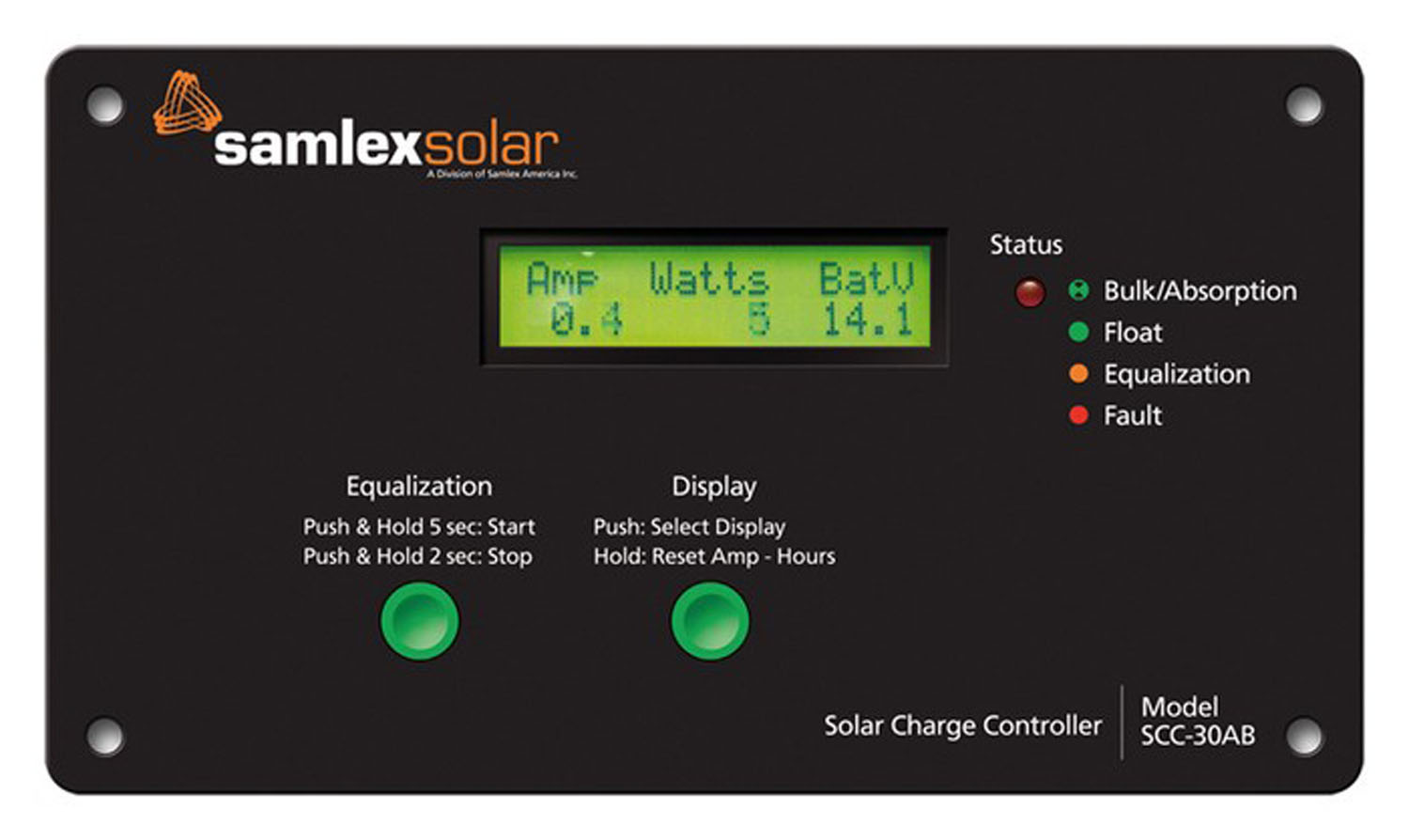SCC30AB Solar Charge Controller