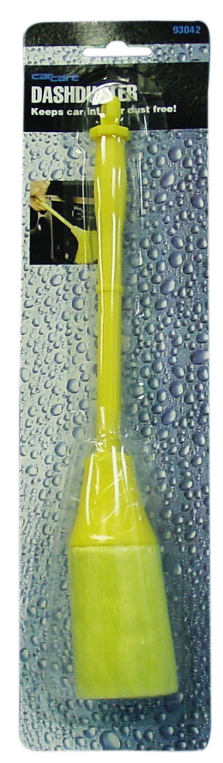 03293042 - Car Care Yellow Dash Duster- Carded