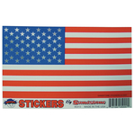 0452000 - Sandstone American Flag Foil Sticker